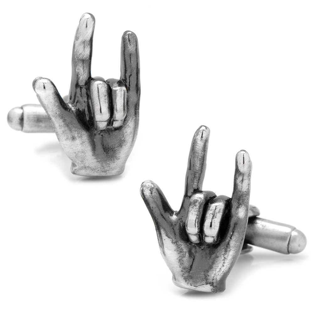 Sign Language Love Cufflinks