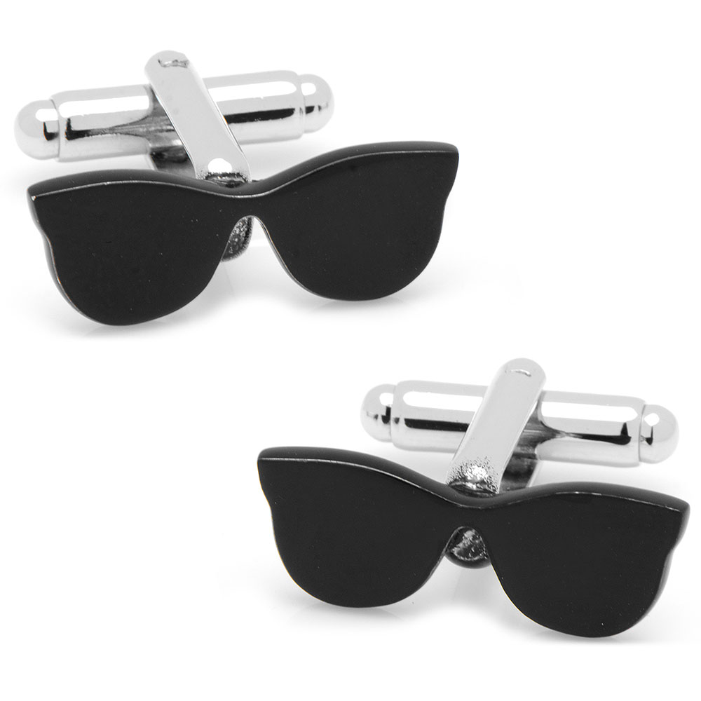 Black Sunglasses Cufflinks