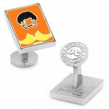 Robin Pop Art Cufflinks