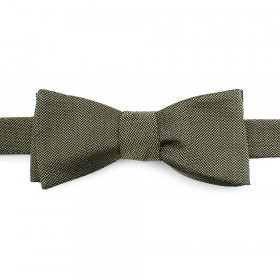 Green Silk Bow Tie