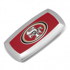 San Francisco 49er's Cushion Money Clip