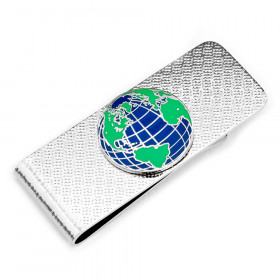 Globe Money Clip