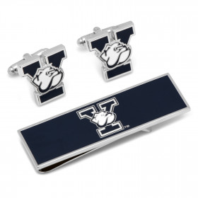 Yale University Bulldogs Cufflinks and Money Clip Gift Set