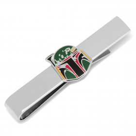 Boba Fett Distressed Helmet Tie Bar