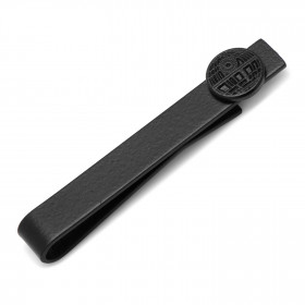 Death Star Satin Black Tie Bar