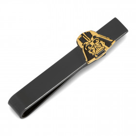 Black and Gold Darth Vader Tie Bar