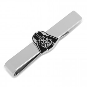 Darth Vader Recessed Matte Black Tie Bar