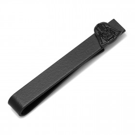 Satin Black Darth Vader Tie Bar
