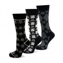 Darth Vader and Stormtrooper 3 Pair Socks Gift Set