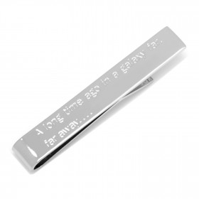 Star Wars Opening Crawl Message Tie Bar