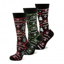 Holiday 2017 Tacky Sweater Socks 3 Pair Gift Set