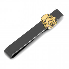 Black and Gold Stormtrooper Tie Bar