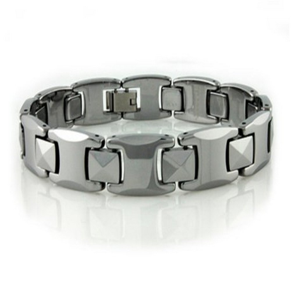 Tungsten bracelet for men in high polish| 10mm width