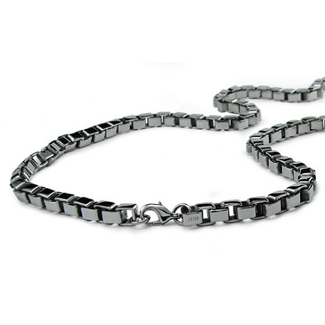 Stainless Steel Box Link Chains For Men