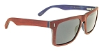HOF Flyami Vice Wood Red and Blue Sunglasses