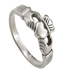 Stainless Steel Claddagh Ring for Men