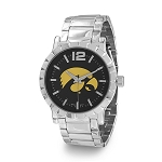 Collegiate Licensed University of Iowa Men's Fashion Watch