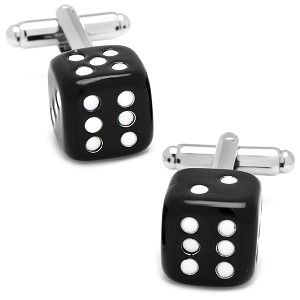 Black Dice Cufflinks