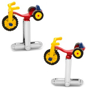 Big Racer Tricycle Cufflinks