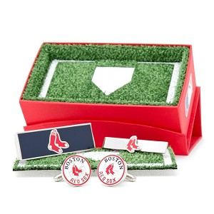 Boston Red Sox Socks 3-Piece Gift Set