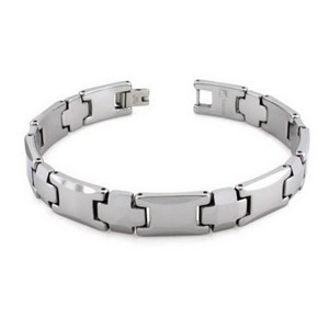 Men's tungsten bracelet in high polish| 10.5mm width
