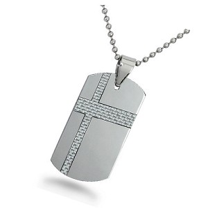 Tungsten Dog Tags For Men