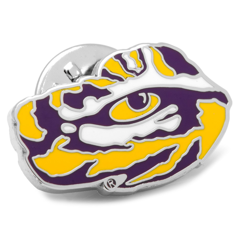 LSU Tiger's Eye Lapel Pin