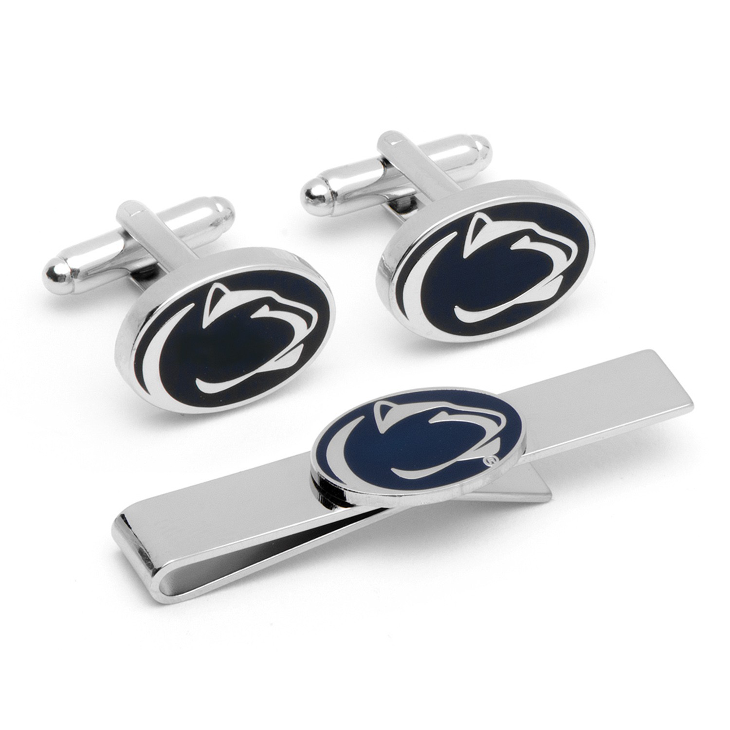 Penn State University Cufflinks and Tie Bar Gift Set
